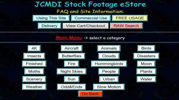 Stock video footage for free and licensed commercial use